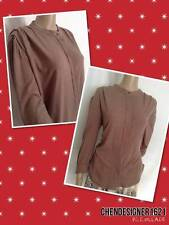 See By Chloe size12US,Vantage design silk button down pleated 3/4 sleeves shirt