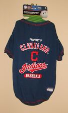 """New listing New Cleveland Indians Pet Dog Wear Mlb Shirt Jersey w/Name Tag Size Xl 24"""" - 28"""""""