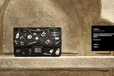 Chanel Noir Lucky Charms 2012 Sac à rabat 2.55 pièce exquise RARE réception & Boîte