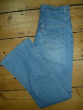 Levi's Jeans Denim Jeans Mens Blue Womens Tab W29 L32 Bell Bottom Flares  [141]