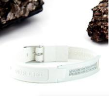 Authentic Pur life Negative Ion Bracelet ELEMENT LX 24 CRYSTALS  WHITE PURELIFE