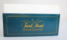 TRIVIAL PURSUIT GENIUS  EDITION 1983 BOX OF 500 CARDS 3000 Quiz Questions Spares