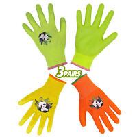 Kinder Schutzhandschuhe Gartenhandschuhe Mädchen Jungen arbeiten Handschuhe