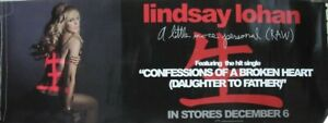 LINDSAY LOHAN 2005 a little more personal (raw) advance promo poster Flawless