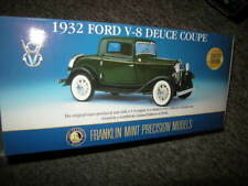 1:24 franklin mint ford v8 Deuce Coupe 1932 Limited Edition 1 of 9500 PCs. OVP