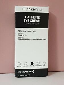 THE INKEY LIST Caffeine Eye Cream 15ml  BRAND NEW