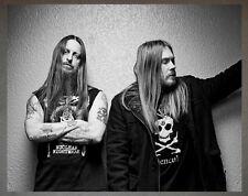 Dark Throne Promo Photo 3 8x10 Bathory Mayhem Carpathian Forest Darkthrone