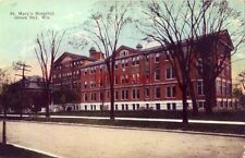 ST. MARY'S HOSPITAL GREEN BAY WI 1923 just found another bone in my leg is broke