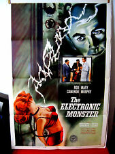 The Electronic Monster Exc.Original US One Sheet 27x41 movie poster Mary Murphy