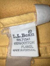 llbean queen flannel full sheet