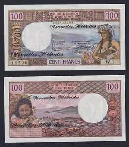 New Hebrides - 100 francs 1977 FDS/UNC  C-09