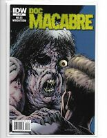 DOC MACABRE #3 BERNIE WRIGHTSON ART