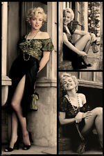 Marilyn Monroe Doorway Poster 24x36 inch Sexy Beautiful Icon Gorgeous Legs New!!