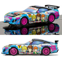 SCALEXTRIC Slot Car C3838 Team GT Lightning - Team GT Sunrise (Anime)