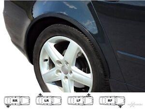 BMW 3 E90 E91 wheel arch trims Black Matt wings tuning 4 pcs moulding set '05-13