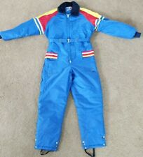 Vintage Made In U.S.A. Snow Snowmobile Ski Suit Extra Large XL UPC Reflector