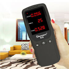 Formaldehyde Detector HCHO TVOC PM2.5 Meter Home Air Gas Quality Monitor Tester