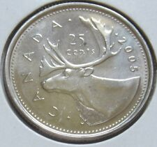 2005 Canada Twenty-Five Cents Coin (UNC. Quarter) (R-FWB)