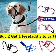 Pet Gentle Leader Dog Head Collars Training Dog Halter Harnesses Stop Pullings