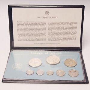 1980 Belize 8-Coin Specimen Set