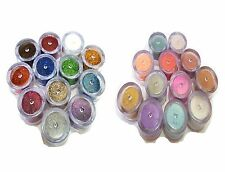 PROFESSION 24 PC THICK & THIN BODY GLITTER POWDER SHIMMER DUST FOR BEAUTY QUEEN