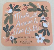 NEW L'Occitane x Rifle Paper Co. Amour Hand & Body Cream Gift Set Travel Tin