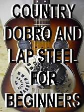 Country Dobro & Lap Steel Guitar Lessons DVD Beginner. Resonater Open G. Slide.