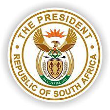 Afrique du Sud autocollant Sceau Président République pare-chocs autocollant voiture porte casque portable