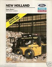 Equipment Brochure - Ford New Holland - Skid Steer Loader - Recycling 94 (E1379)