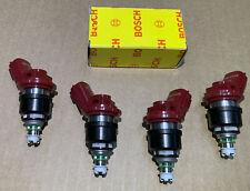 Bosch OE Fuel Injector For Nissan 200SX 240SX 300ZX NX Sentra 62041 4PCS Set