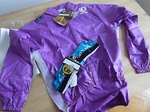 """Pearl Izumi """"Silmond"""" Lightweight Jacket (L) w/ Pearl Izumi gloves (M) NOS"""
