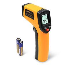 Digital Laser Thermometer LCD -50°C bis +330°C IR Infrarot Temperaturmessgerät