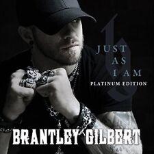 BRANTLEY GILBERT - JUST AS I AM: PLATINUM EDITION (BONUS TRACKS) NEW CD