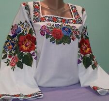 Ukrainian embroidery, embroidered blouse, coton, XS - 4XL, Ukraine