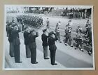 Vintage Photograph military r.a.f. parade march 1940s bruder basch