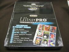 NEW 100 UNOPENED ULTRA PRO  9 POCKET PAGES ACID FREE,UV PROTECYED HIGH QUALITY!