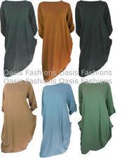Camisas y tops de mujer de manga larga túnica/caftán 100% algodón