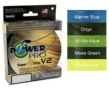 Power Pro Super Slick V2 8-Strand Braided Line 300 500 1500 All Colors