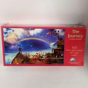 "The Journey by Tom DuBois 100 Piece Jigsaw Puzzle (10"" x 16"") Noahs Ark Sunsout"