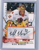 2007-08 ITG Between The Pipes Autographs #AMM Mike Murphy NM-MT Auto
