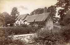 J.V. Royaume-Uni, Ann Hathaway's cottage  Vintage albumen print Tirage al