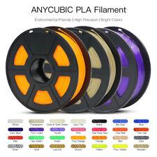 Anycubic 1KG 1.75mm PLA Black 3D Printer Filament Spool, 2.2lbs,Multi-Colour US