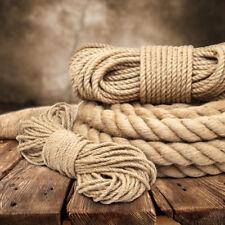 JUTESEIL Jute Seil Juteseile Seile Hanfseil Tauwerk Gedreht Bootsteile Rope Tau