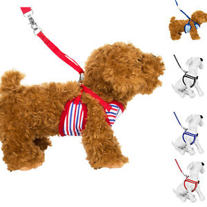 Pet Control Stripe Harness for Dog Puppy Cat Soft Walk Collar Safety Leash Vest