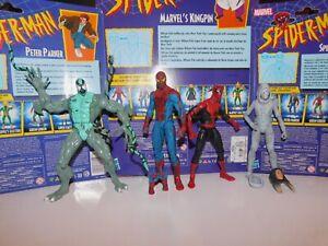 marvel legends spiderman lot