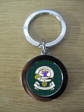 MONTGOMERY CLAN KEY RING (METAL) IMAGE DISTORTED TO PREVENT INTERNET THEFT