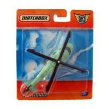 Matchbox SkyBusters R0682  VERTIBIRD  green helicopter NIB