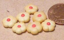 1:12 escala 7 Suelto Galletas Pastel Casa de muñecas en miniatura de mermelada Comida Accesorio PL88