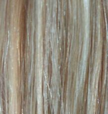 100% Remy Human Hair Extensions Clip In Highlight Streak - Blonde mix 12""