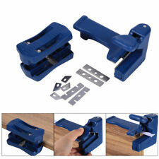 Wood Edge Banding Trimming Tool Double Edge Tail Trimmer for Carpenter 15-40mm